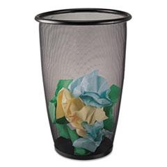SAF9718BL - Safco® Onyx™ Round Mesh Wastebaskets