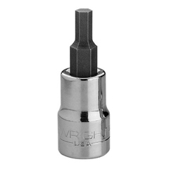 "WRT875-3212 - Wright Tool - 3/8"" Dr. Hex Bit Sockets"