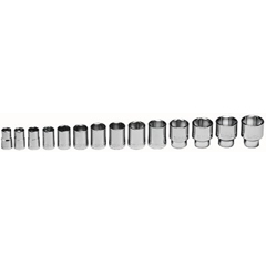WRT875-419 - Wright Tool - 14 Piece Standard Socket Sets
