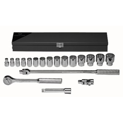 WRT875-422 - Wright Tool19 Piece Standard Socket Sets