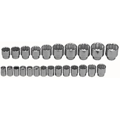 WRT875-624 - Wright Tool - 24 Piece Standard Metric Socket Sets