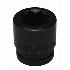WRT875-8813 - Wright Tool8 Point Double Square Impact Railroad Sockets