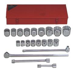 WRT875-821 - Wright Tool21 Piece Standard Socket Sets