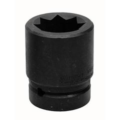 WRT875-8812 - Wright Tool8 Point Double Square Impact Railroad Sockets