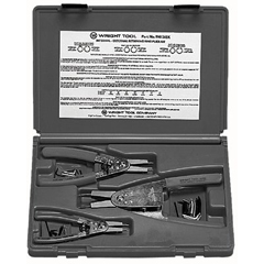 WRT875-9H1265K - Wright Tool3 Piece Snap Ring Plier Sets
