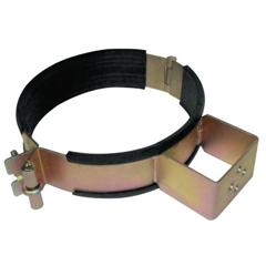 BWL900-CYH-108 - Best WeldsGas Cylinder Holder, Steel, 8 In To 8 3/4 In Dia., Silver/Black