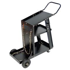 BWL900-WC-1228 - Best WeldsMIG Welding Carts, 12 1/4 In X 33 In, 3 Shelves, 125 Lb Capacity, Black