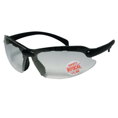 ANR101-CC150 - Anchor BrandContemporary Bifocal Safety Glasses, 1.50 Diopter, Black