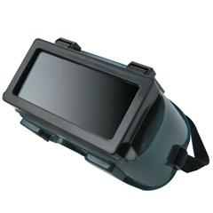 BWL901-WG-2414RFF - Best WeldsRidged Goggle, Hard Plastic, Green