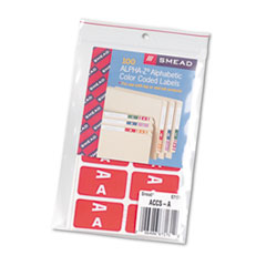 SMD67171 - Smead® Alpha-Z® Color-Coded Second Letter Alphabetical Labels