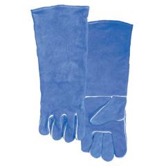 BWL902-10-2054 - Best WeldsWelding Gloves, Split Cowhide, Large, Blue