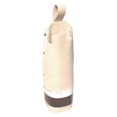 BWL902-200-S - Best Welds - Split Leg Waist Apron, 24 In X 24 In, Lava Brown