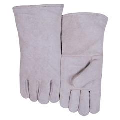 BWL902-300GCS - Best WeldsLeather Welders Gloves, Shoulder Split Cowhide, Small, Blue