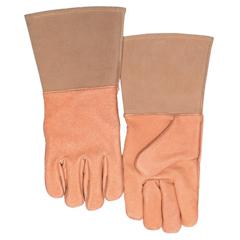 BWL902-250GC - Best WeldsSpecialty Welding Gloves, Top Grain Pigskin, Large, Gold