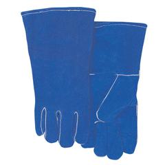 BWL902-300GC - Best WeldsLeather Welding Gloves, Shoulder Split Cowhide, Large, Blue