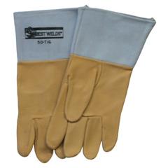 BWL902-50TIG-L - Best WeldsPigskin Tig Welding Gloves, Large, Tan