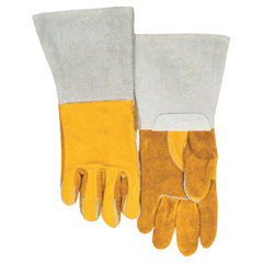 BWL902-850GC-XL - Best Welds - Premium Welding Gloves, Grain Cowhide, X-Large, Gold