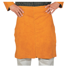 BWL902-Q-11 - Best Welds - Leather Waist Apron, 24 In X 15 In, Golden Brown