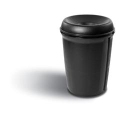RCP9058BLA - Atrium™ Funnel Top Waste Container