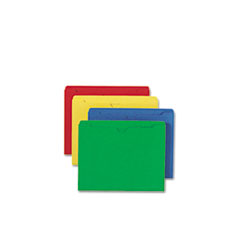 SMD75613 - Smead® Colored File Jackets with Reinforced Double-Ply Tab
