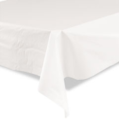 TBLBIO1403WH - Tablemate® Bio-Degradable Plastic Table Cover