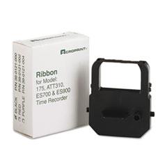 ACP390121000 - Acroprint 390121000 Ribbon Cartridge, Black
