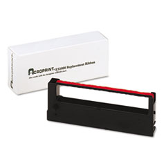 ACP390129000 - Acroprint 390129000 Ribbon, Red/Black