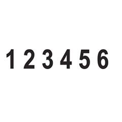 USSRN028 - U. S. Stamp & Sign® Rubber Numberer
