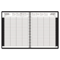 AAG7021277 - AT-A-GLANCE® Eight-Person Group Daily Appointment Book