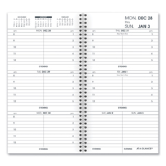 AAG7090410 - AT-A-GLANCE® Weekly Appointment Book Refill Hourly Ruled