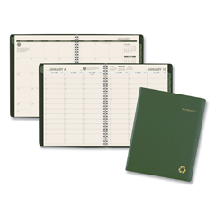 AAG70950G60 - AT-A-GLANCE® Recycled Weekly/Monthly Appointment Book