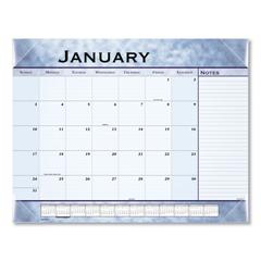 AAG89701 - Slate Blue Desk Pad, 22 x 17, Slate Blue , 2019