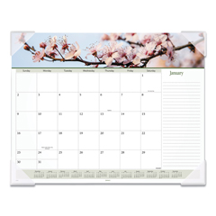 AAG89805 - AT-A-GLANCE® Floral Panoramic Desk Pad