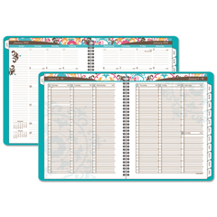 AAG917P905 - AT-A-GLANCE® Suzani Weekly/Monthly Appointment Book