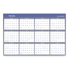 AAGA1152 - AT-A-GLANCE® Vertical/Horizontal Erasable Quarterly/Monthly Wall Planner