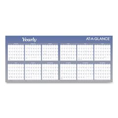 AAGA177 - AT-A-GLANCE® Large Horizontal Erasable Wall Planner