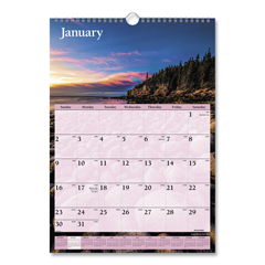 AAGDMW20028 - AT-A-GLANCE® Scenic Monthly Wall Calendar