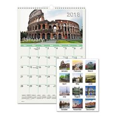 AAGDMW40228 - AT-A-GLANCE® European Destinations Wall Calendar