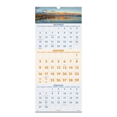 AAGDMW50328 - AT-A-GLANCE® Scenic Three-Month Wall Calendar