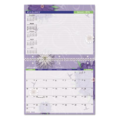 AAGPF1728 - AT-A-GLANCE® Paper Flowers Monthly Desk/Wall Calendar