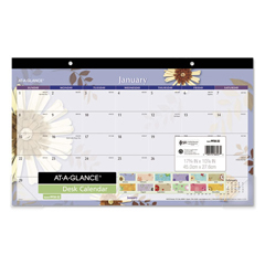 AAGPF5032 - AT-A-GLANCE® Paper Flowers Desk Pad