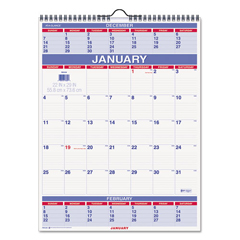 AAGPM1028 - AT-A-GLANCE® Three-Month Wall Calendar