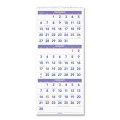AAGPM1128 - AT-A-GLANCE® Deluxe Three-Month Reference Wall Calendar