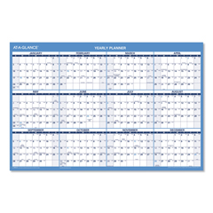 AAGPM200S28 - AT-A-GLANCE® Horizontal Erasable Wall Planner