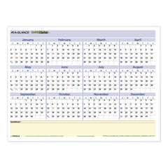AAGPM550B28 - AT-A-GLANCE® QuickNotes® Mini Erasable Wall Planner
