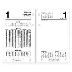 AAGS17050 - AT-A-GLANCE® Financial Desk Calendar Refill