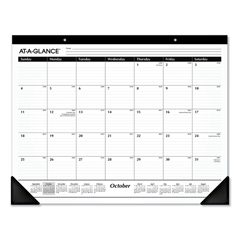 AAGSK241600 - AT-A-GLANCE® Ruled Desk Pad