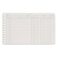 ABFARB58100 - Adams® Six-Ring Ledger Binder Refill Sheets