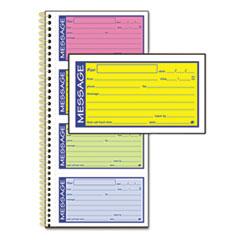 ABFSC1153RB - Adams® Wirebound Telephone Message Book