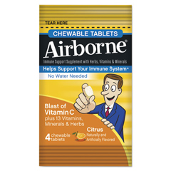 ABN89980 - Airborne® Immune Support Chewable Tablets